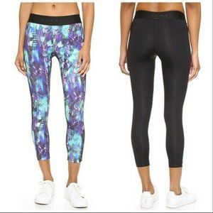 Koral Compass Cropped Workout Leggings Small